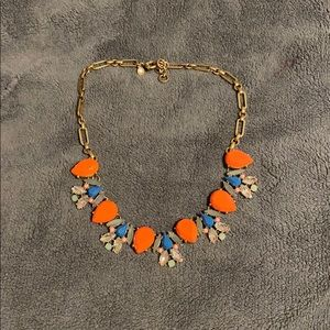 Multi-colored stone necklace from J.Crew